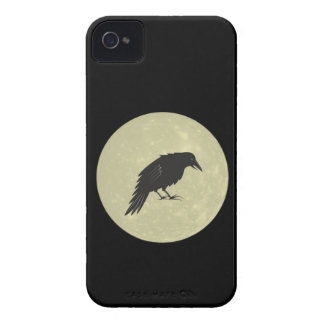 Rabe Mond raven moon iPhone 4 Case-Mate Cases