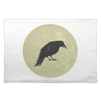 Rabe Mond raven moon Placemat