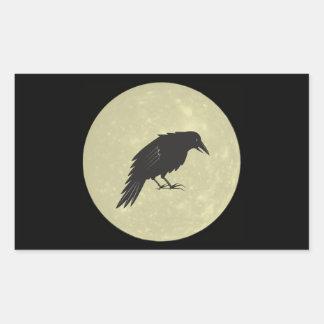 Rabe Mond raven moon Sticker
