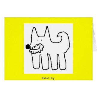Rabid Dog Card