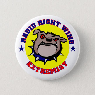 Rabid Right Wing Extremist Button