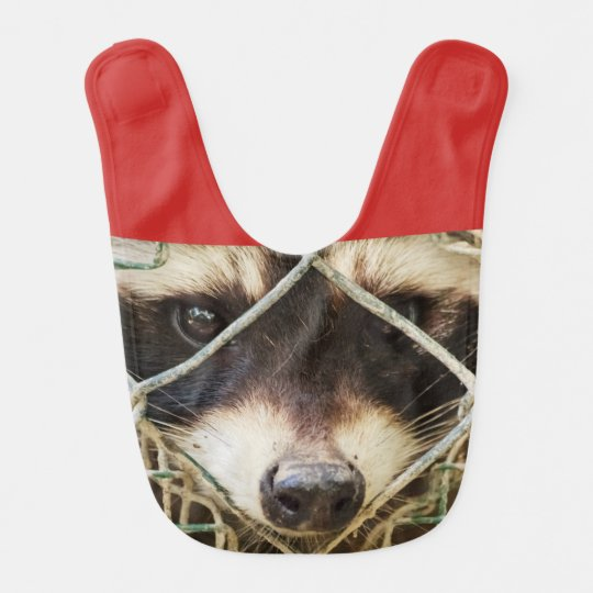 RACCON   BABY   BIB  customizable