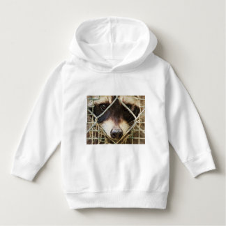 raccon on Toddler Pullover Hoodie