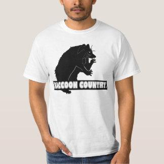 Raccoon Animal Country Designer Shirt Clothing