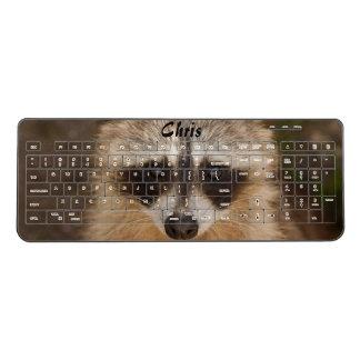 Raccoon Animal Wireless Keyboard