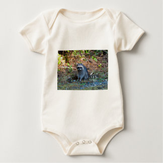 Raccoon at Point Defiance Park WA State Baby Bodysuit