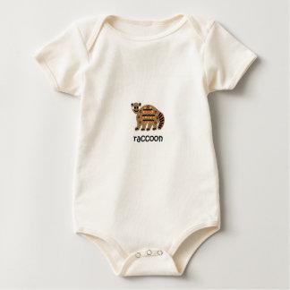 Raccoon Baby Bodysuit