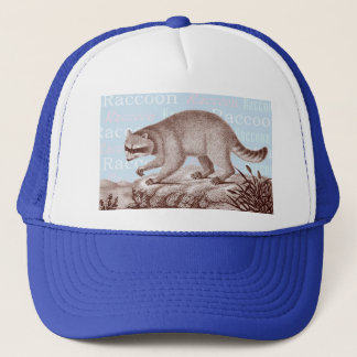 Raccoon Cap - Great for Animal Lovers