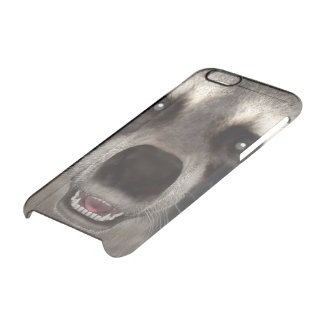 Raccoon Clear iPhone 6/6S Case