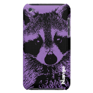 Raccoon Closeup iPod Touch Covers