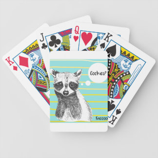 Raccoon_Cookies_113323534.ai Bicycle Playing Cards