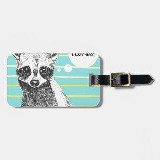 Raccoon_Cookies_113323534.ai Luggage Tag