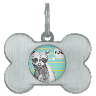 Raccoon_Cookies_113323534.ai Pet Tag