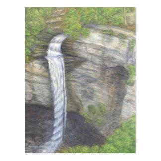 Raccoon Creek Falls Waterfall Postcard