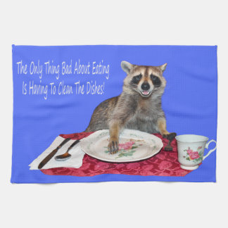 Raccoon Dish Towel