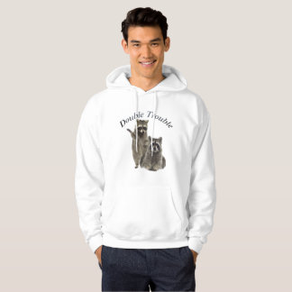 Raccoon Double Trouble Hoodie and T-shirts