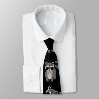 Raccoon for Outdoorsman Tie