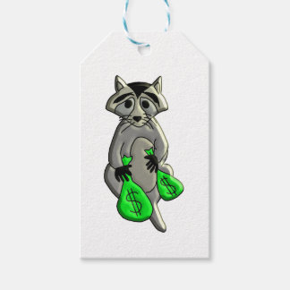 Raccoon - Give Me Money Gift Tags