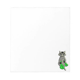 Raccoon - Give Me Money Notepad