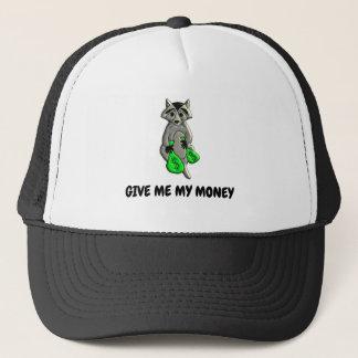 Raccoon - Give Me Money Trucker Hat
