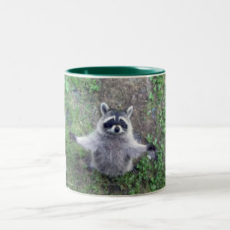 Raccoon Hug Mug Custom