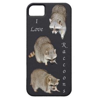 Raccoon iPhone 5 Barely There Universal Case