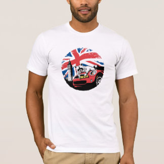 Raccoon on Mini in London T-Shirt