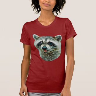 Raccoon Picture T-Shirt