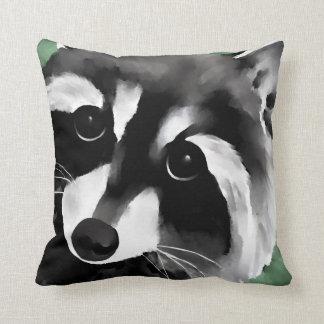 Raccoon Pillows