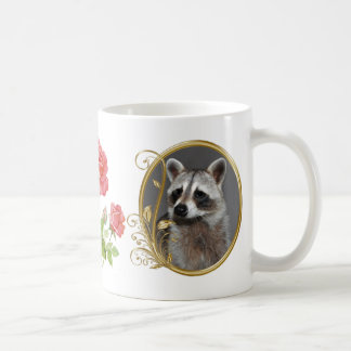 Raccoon Portrait Mug