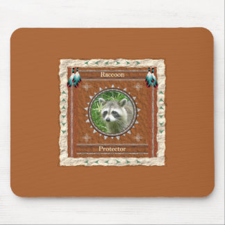 Raccoon  -Protector- Mouse Pad