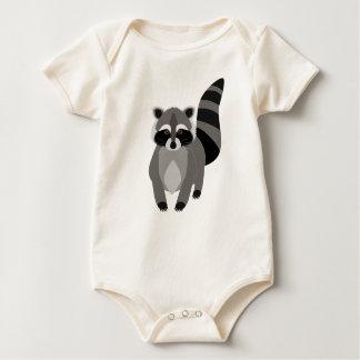 Raccoon Rascal Baby Bodysuit