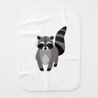Raccoon Rascal Burp Cloths