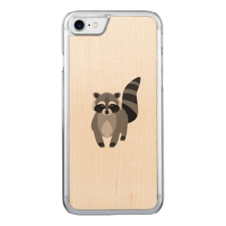 Raccoon Rascal Carved iPhone 8/7 Case