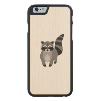 Raccoon Rascal Carved® Maple iPhone 6 Case