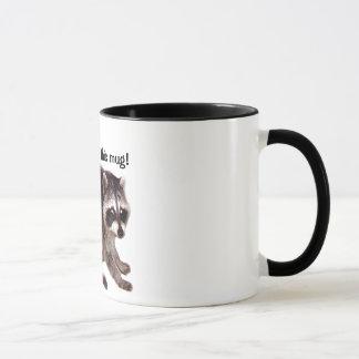 Raccoon Saying Get Me Off This Mug! Mug