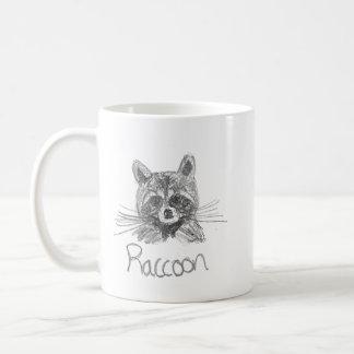 Raccoon Sketched Mug