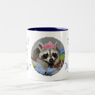 Raccoon Sleeping Coffee Mug