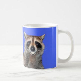 Raccoon Smiling Coffee Mug