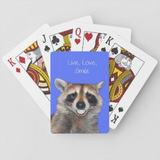 Raccoon Standard Playing cards