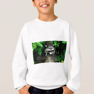 raccoon sweatshirt