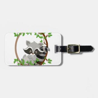 Raccoon WOODLANDCRITTERS Luggage Tag