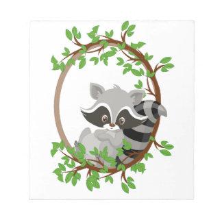 Raccoon WOODLANDCRITTERS Notepad