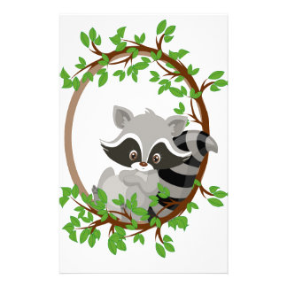 Raccoon WOODLANDCRITTERS Stationery