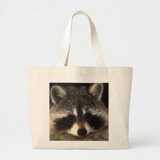 RaccoonMomma Jumbo GroceryTote Large Tote Bag
