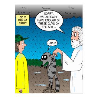 Raccoons on the Ark Postcard