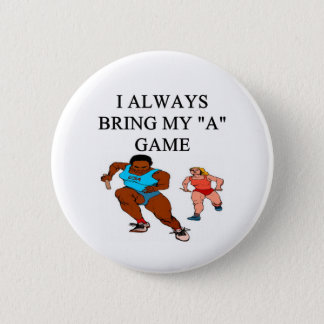 RACE4i love track and field running raing 2 Inch Round Button