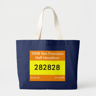 Race Bib Bag Template