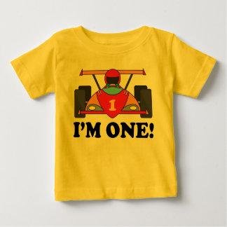 Race Car 1st Birthday I'm One T-shirt