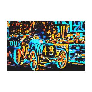 Race Car #48 by DeVertviers Canvas Print